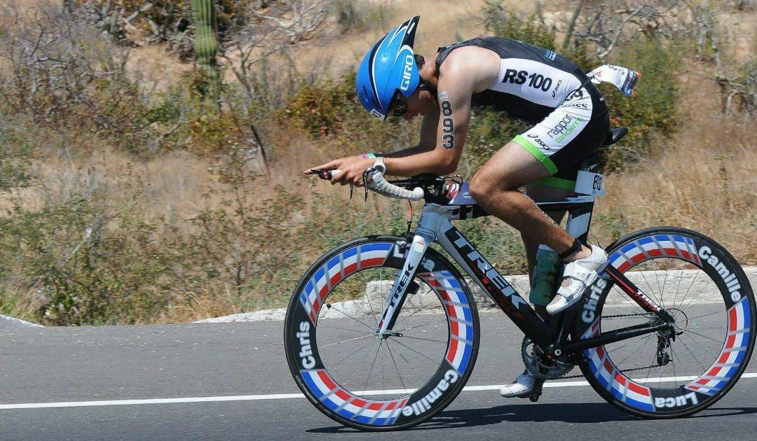 Mot triathlon VM i Sydafrika