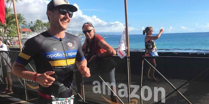 Triathleten Kristian Ek och Friskvårdskollen samarbetar