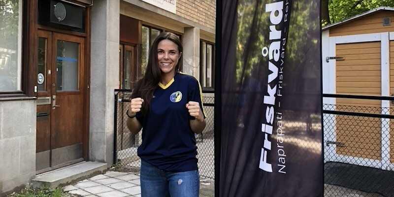 Thai- och kickboxaren Sofia Bedziri